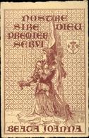 Artiste Cp Jeanne D'Arc, Beata Joanna, Nostre Sire Dieu Premier Servi - Christianisme