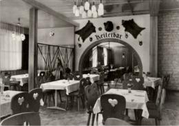 ! DDR Ansichtskarte Seega Kreis Artern, Konsum Gaststätte Weidmannsheil - Kyffhaeuser