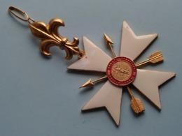 ORDO MILITUM SANCTI SEBASTIANI ( Medaille 83 Gram > NO Box ) Voir Photo Pour Detail ! - Non Classés
