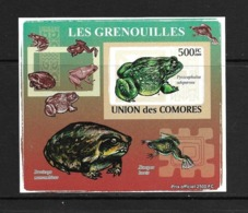UNION DES COMORES 2009 GRENOUILLES YVERT N°1523 NON DENTELE NEUF MNH** - Grenouilles