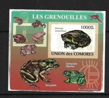 UNION DES COMORES 2009 GRENOUILLES YVERT N°1524 NON DENTELE NEUF MNH** - Grenouilles