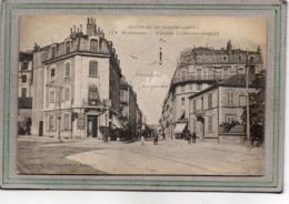 CPA -BESANCON (25) -Thèmes : Eclairage Public, Lampe, Lampadaire, Lampisterie - Av. Fontaine-Argent - 1916 - Besancon