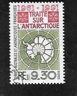 TIMBRE OBLITERE DES TAAF DE 1991 N° YVERT 162 - Oblitérés