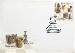 Belarus 2018 Ancient Chess Pieces FDC - Belarus