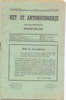 Tijdschrift - Devotie , Godsdienst - Het St Antoniusboekje Van Balgerhoeke - Oct 1950 - Non Classés
