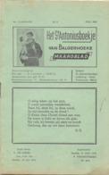 Tijdschrift - Devotie , Godsdienst - Het St Antoniusboekje Van Balgerhoeke - Juli 1951 - Non Classés