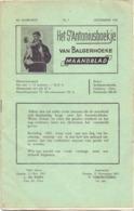 Tijdschrift - Devotie , Godsdienst - Het St Antoniusboekje Van Balgerhoeke - December 1951 - Non Classés