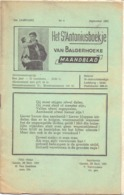Tijdschrift - Devotie , Godsdienst - Het St Antoniusboekje Van Balgerhoeke - September 1951 - Non Classés
