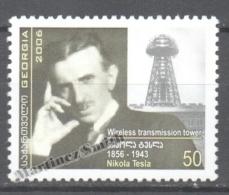 Georgie - Georgia 2006 Yvert 414, Personality. Nikola Tesla - MNH - Georgia