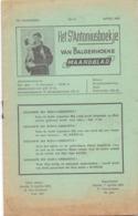 Tijdschrift - Devotie , Godsdienst - Het St Antoniusboekje Van Balgerhoeke - April 1951 - Non Classés