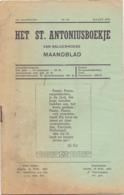 Tijdschrift - Devotie , Godsdienst - Het St Antoniusboekje Van Balgerhoeke - Maart 1951 - Non Classés