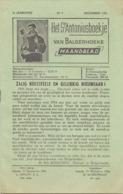 Tijdschrift - Devotie , Godsdienst - Het St Antoniusboekje Van Balgerhoeke - December 1954 - Non Classés