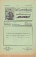 Tijdschrift - Devotie , Godsdienst - Het St Antoniusboekje Van Balgerhoeke - Februari 1955 - Non Classés