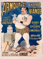 @@@ MAGNET - Armour & Co. Extrait De Viande, Weightlifting - Publicitaires