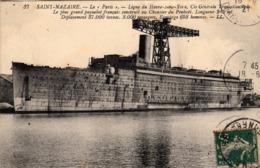 Thematiques 44 Loire Atlantique Saint Nazaire Bateau Le Paris Ligne Du Havre New York Construit Au Chantier De Penhoët - Paquebote