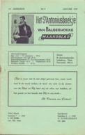 Tijdschrift - Devotie , Godsdienst - Het St Antoniusboekje Van Balgerhoeke - Januari 1959 - Non Classés