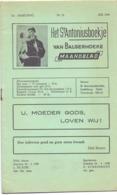 Tijdschrift - Devotie , Godsdienst - Het St Antoniusboekje Van Balgerhoeke - Mei 1959 - Non Classés