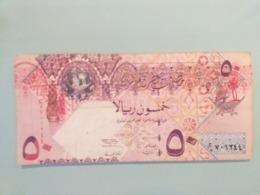 QATAR-50 RIYALS 2003 - Qatar