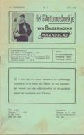 Tijdschrift - Devotie , Godsdienst - Het St Antoniusboekje Van Balgerhoeke - Juli 1958 - Non Classés