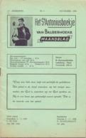 Tijdschrift - Devotie , Godsdienst - Het St Antoniusboekje Van Balgerhoeke - November 1958 - Non Classés