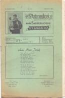 Tijdschrift - Devotie , Godsdienst - Het St Antoniusboekje Van Balgerhoeke - Maart 1953 - Non Classés