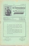Tijdschrift - Devotie , Godsdienst - Het St Antoniusboekje Van Balgerhoeke - November 1953 - Non Classés