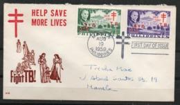 Filipinas. 1959. Lucha Contra La Tuberculosis - Filipinas