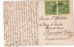 LEVANT AUTRICHIEN 1914 CARTE POSTALE DE CONSTANTINOPLE - Levant Autrichien
