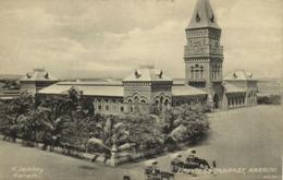 Pakistan, KARACHI, Empress Market (1910s) R. Jalibhoy Postcard - Pakistan