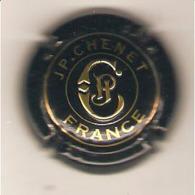 CAPSULE MUSELET MOUSSEUX JP CHENET LETTRES EN RELIEF (OR ET NOIR) - Sparkling Wine