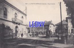 CPA De  LA MOTTE SERVOLEX (73) - PLACE CENTRALE N° 823 - ANIMATIONS - TRAIN - La Motte Servolex