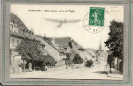 CPA - HERICOURT (70) - Aspect Du Restaurant Plancon Survolé Par I-un Biplan En 1911 - Francia