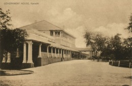 Pakistan, KARACHI, Government House (1930s) Postcard - Pakistán