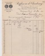CHANTENAY SUR LOIRE RAFFINERIE DE CHANTENAY ANNEE1890 - Francia