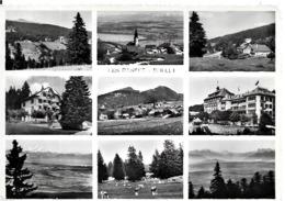 Suisse    LES RASSES  - BULLET  .   9 VUES DE 1953 - VD Vaud