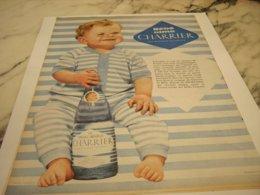ANCIENNE PUBLICITE  BEBES AIMENT  CHARRIER 1960 - Posters