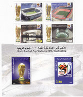 Yemen Rep.2010, World Cup Foot-Ball 4v. + 1 S. Sheet MNH Compl.set -nice Scarce Topical- Red Price- - Yemen