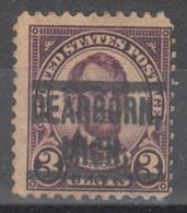 USA Precancel Vorausentwertung Preo, Locals Michigan, Dearborn 555-549 - United States