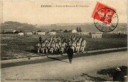 CPA MILITAIRE Epinal-Terrain De Manoeuvre De Chantraine (317357) - Manovre