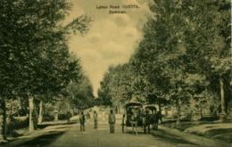 Pakistan, QUETTA, Lytton Road, Horse Carts (1910s) K.C. Marrott Postcard - Pakistan