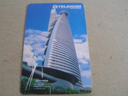 Malaysia Used Chipcard  TeleKom Tower - Maleisië