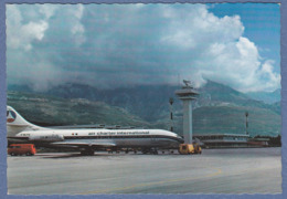 Aerodrome Tivat  Montenegro Yugoslavia  Air France Plane - Aerodromi