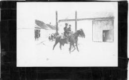 CARTE PHOTO . MILITAIRE  Regiment à Identifier    Vers 1900 - Photos
