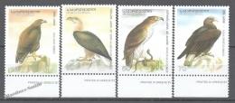 Georgie - Georgia 2007 Yvert 416-419, Fauna. Birds. Eagles - MNH - Georgia