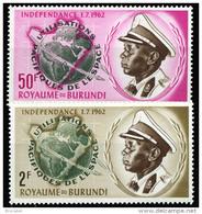 Burundi 0052/53** -  Espace  MNH - Burundi