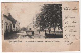 BELGIUM Zoutleeuw. Zout Leeuw Léau. De Geete En Het Gasthuis Hôpital Café - Zoutleeuw