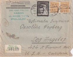 POLOGNE 1935 LETTRE DE RADOM DU CLUB POLONAIS D'ESPERANTO - 1919-1939 Republic