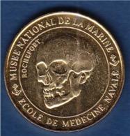 = Rochefort, Musée National De La Marine, Ecole De Médecine Navale, Médaille Et Patrimoine 2014, Crane - Toeristische