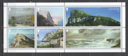 SS482 GIBRALTAR VIEWS NATURE ARCHITECTURE BL133 !!! MICHEL 14 EURO !!! 1BL MNH - Vacances & Tourisme