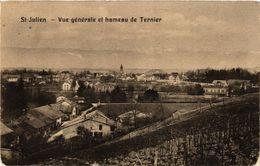 CPA St-JULIEN - Vue Générale Et Hameau De Ternier (247776) - Saint-Julien-en-Genevois